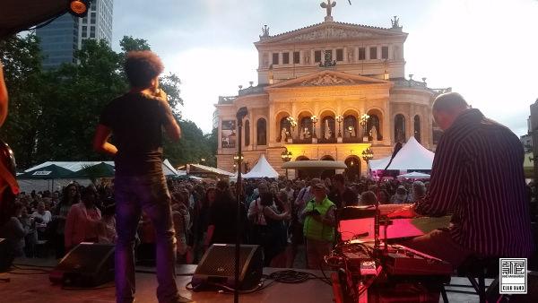 KKCB – Partyband beim Opernplatzfest in Frankfurt